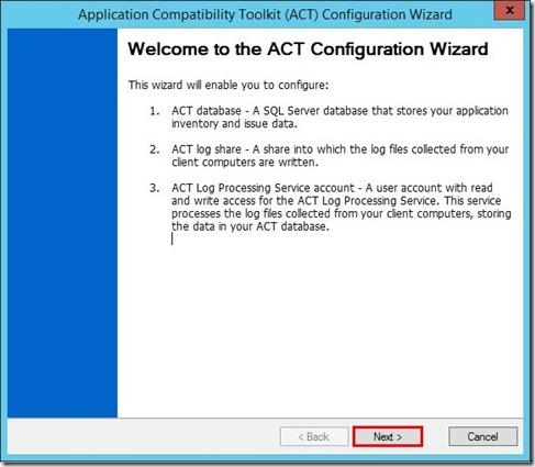 Configuration ACT (1)