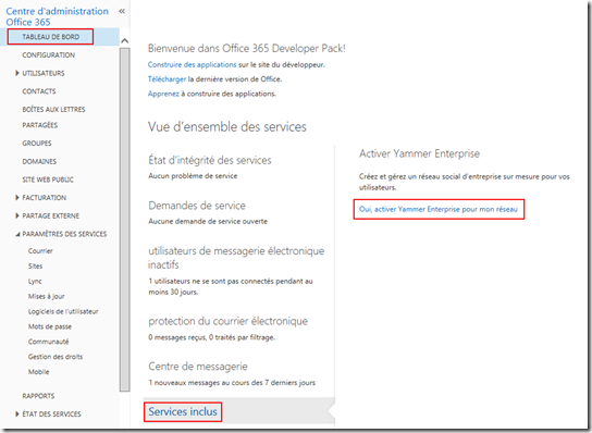 Pi services retour d 39 exp rience migration de tenant office 365 partie 2 - Activate yammer office 365 ...