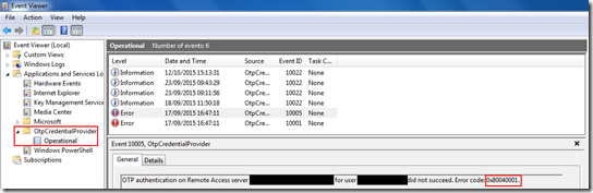 event viewer win 7